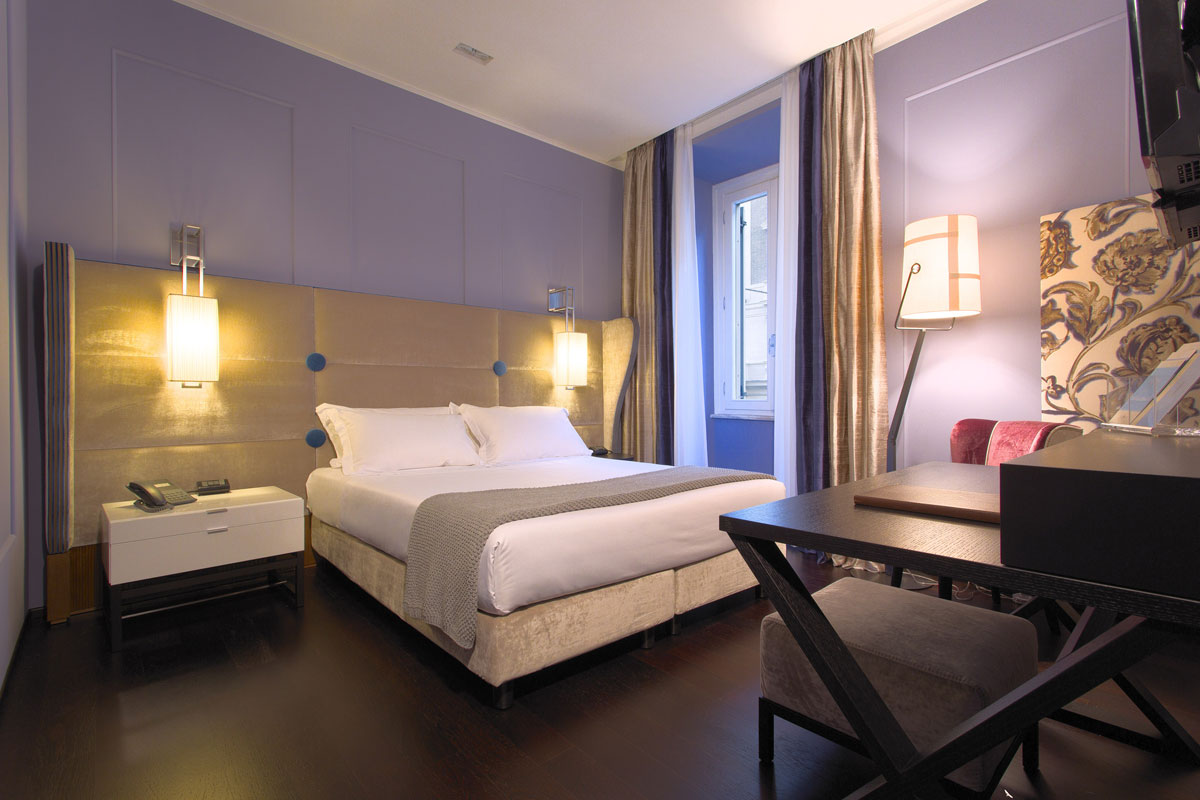 Stendhal Luxury Suites In Rome Annex Suites