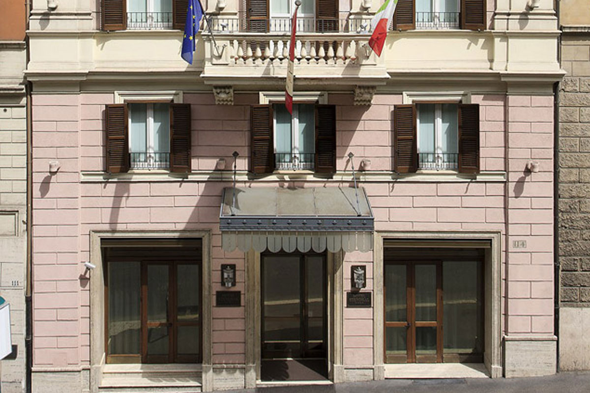 Hotel Stendhal - Rome Exterior