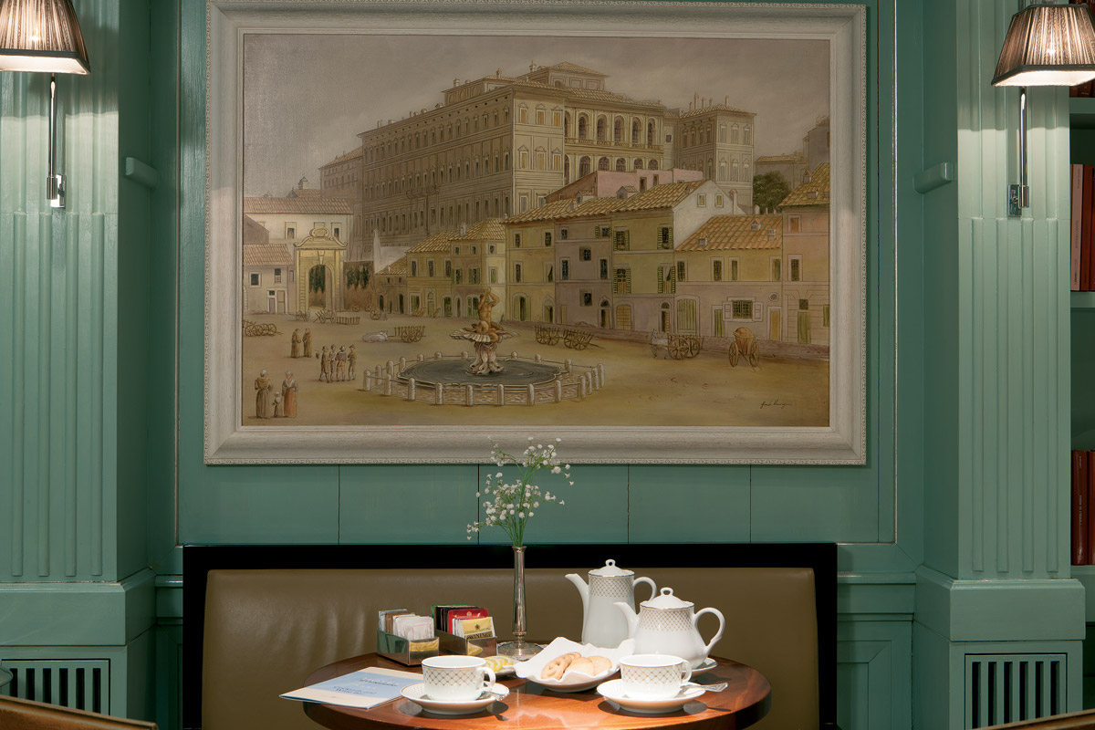 Photo Gallery Rome Hotel Stendhal