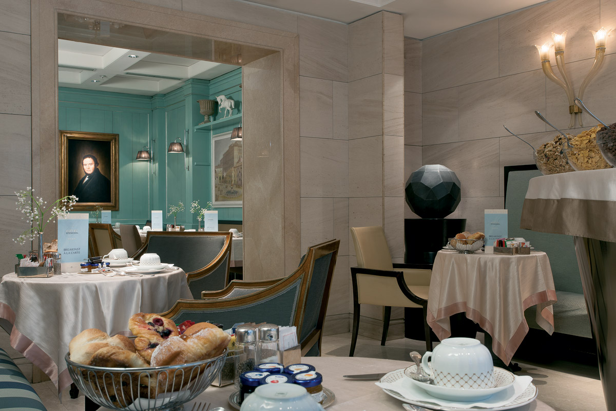 Hotel Stendhal - Rome Breakfast Room