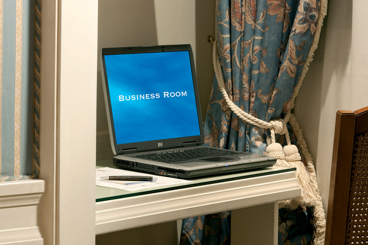 Hotel Stendhal - Rome Business Room Detail