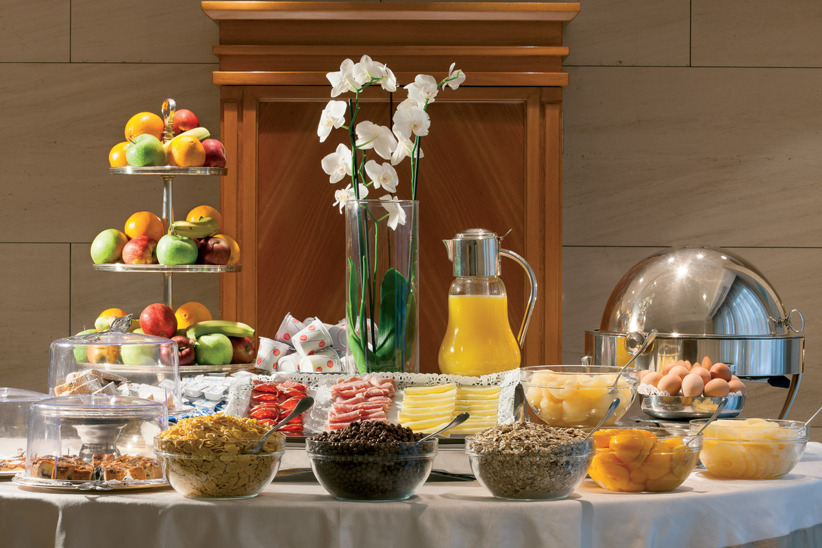Hotel Stendhal - Rome Buffet